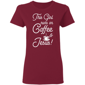 Coffee and Jesus - Premium Tee - My Christian Shop