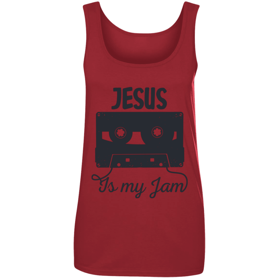 Jesus is My Jam - Tank Top - My Christian Shop
