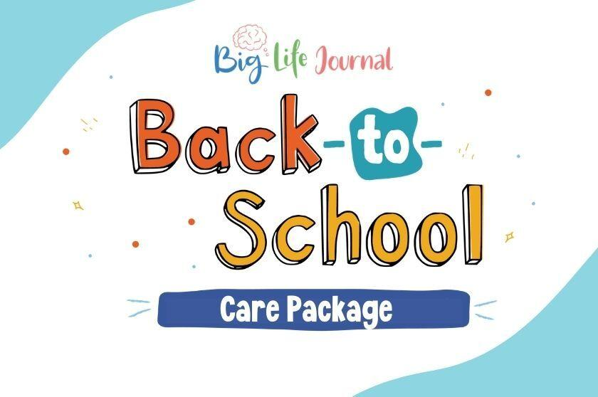 Back-to-School Free Printable Care Package