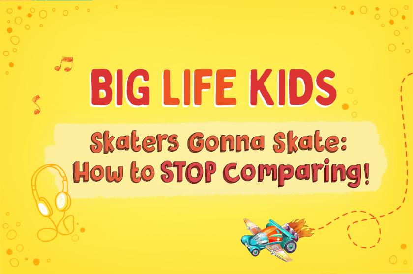 Skaters Gonna Skate: How to STOP Comparing!