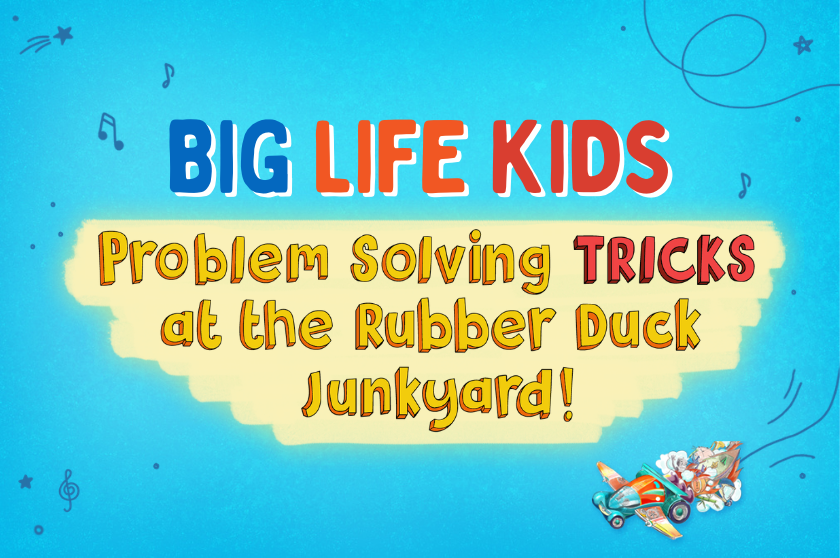 Problem Solving TRICKS at the Rubber Duck Junkyard!