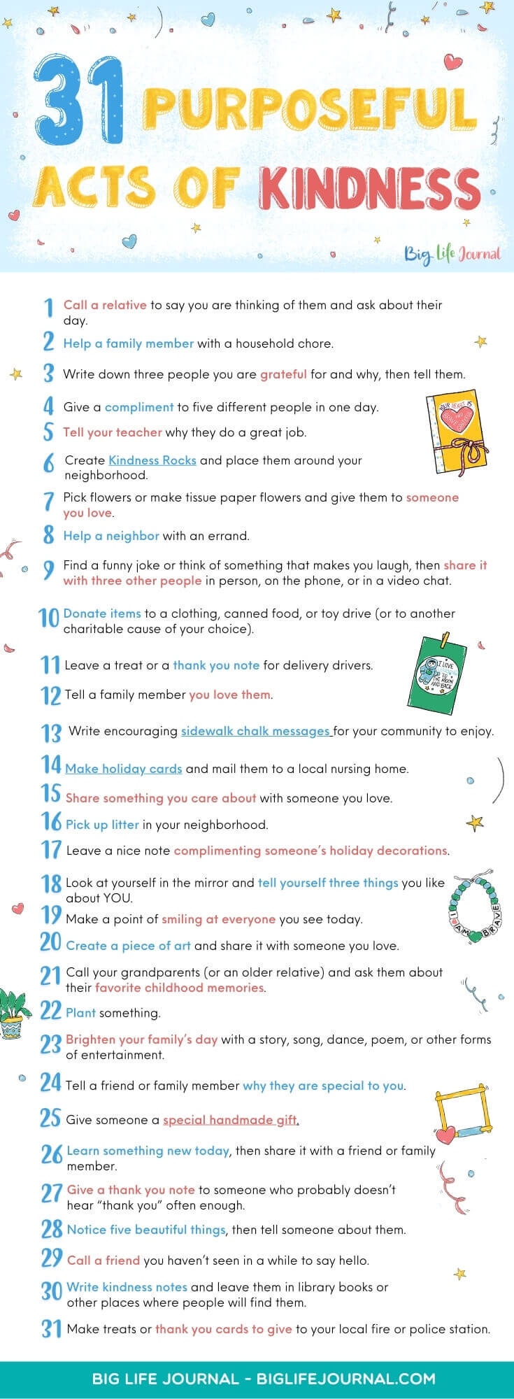 31 Purposeful Acts of Kindness