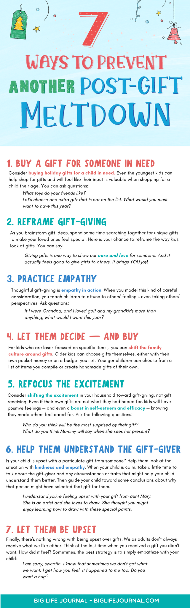 7 Ways to Prevent Another Post-Gift Meltdown