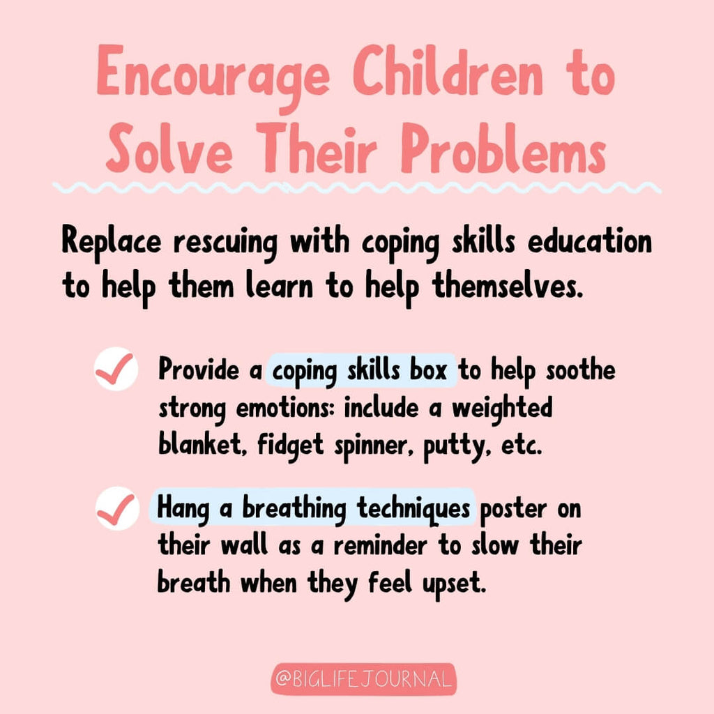 Encourage Children to Solve Their Problems