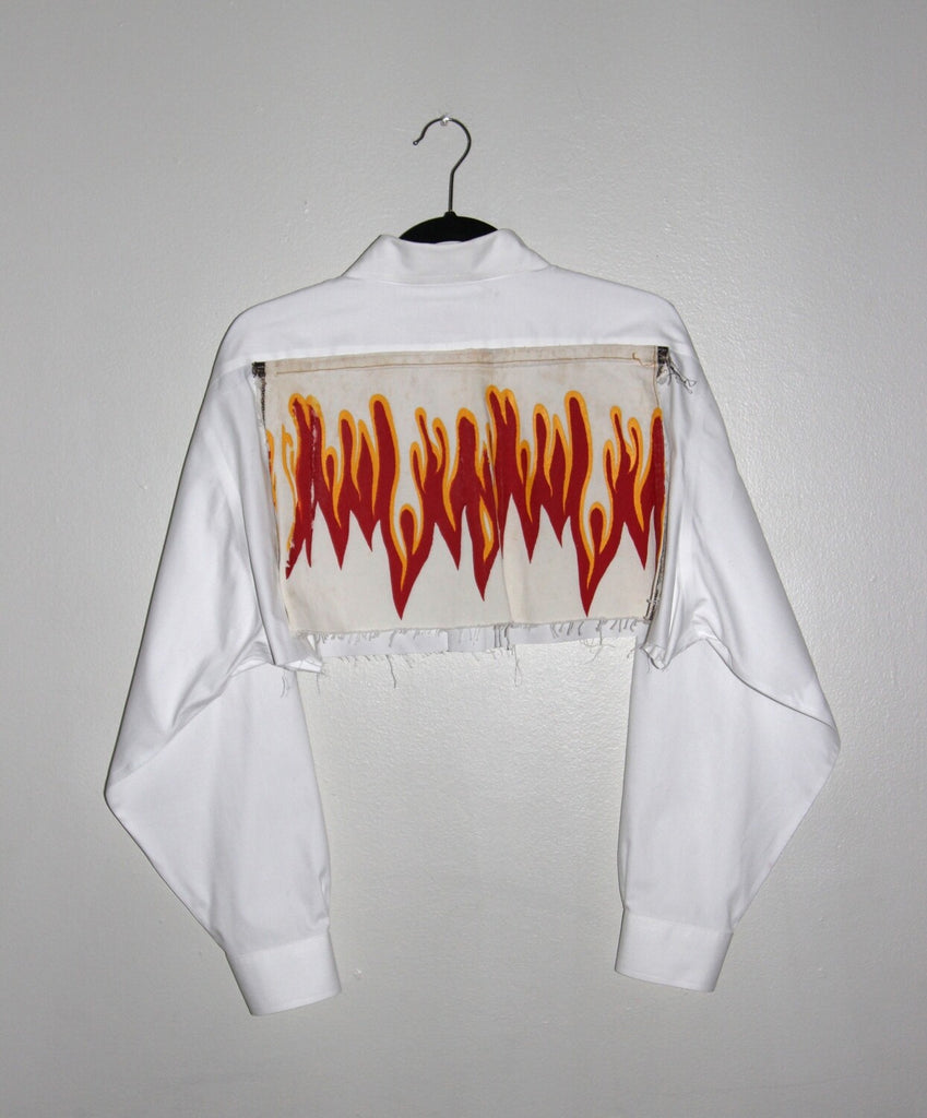 "THE ""HEATING UP"" BUTTON-DOWN"