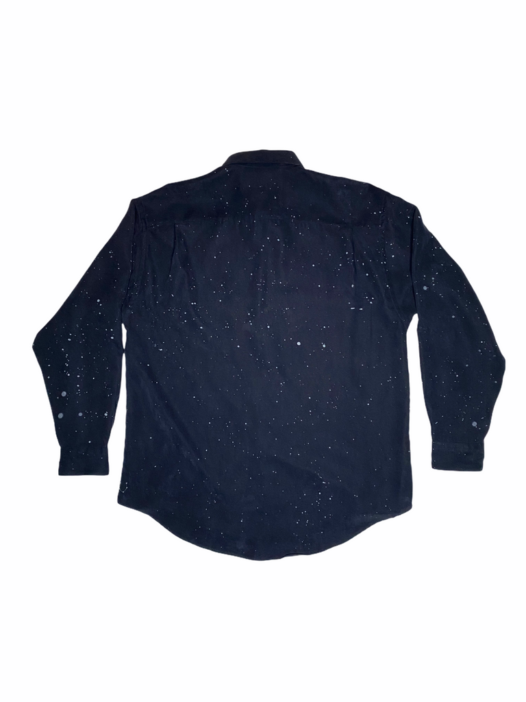 "THE ""SHOOT FOR THE STARS, AIM FOR THE MOON"" BUTTON DOWN"