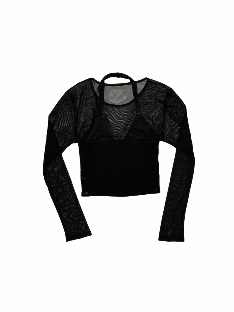"THE ""MESHING AROUND"" TOP"