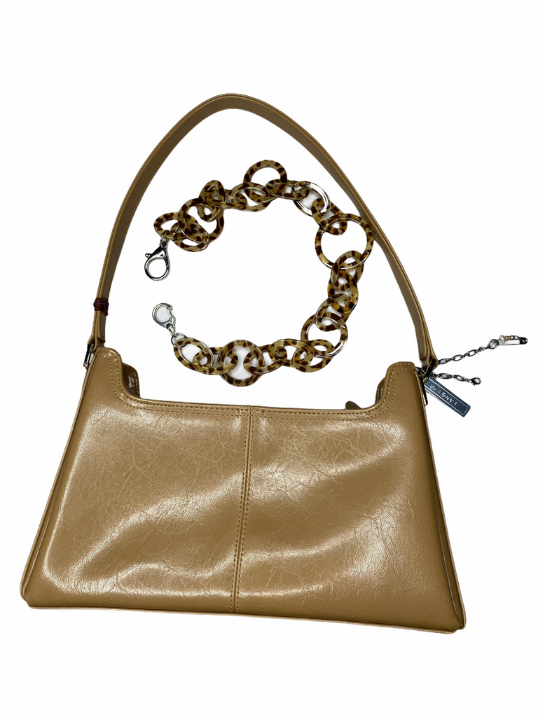 "THE ""CAPPUCCINO"" CHAIN BAG"