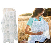 Adjustable Straps Breathable Breastfeeding Nursing Cover