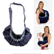 Baby Wrap Carrier Nursing Sling Ring for Breastfeeding