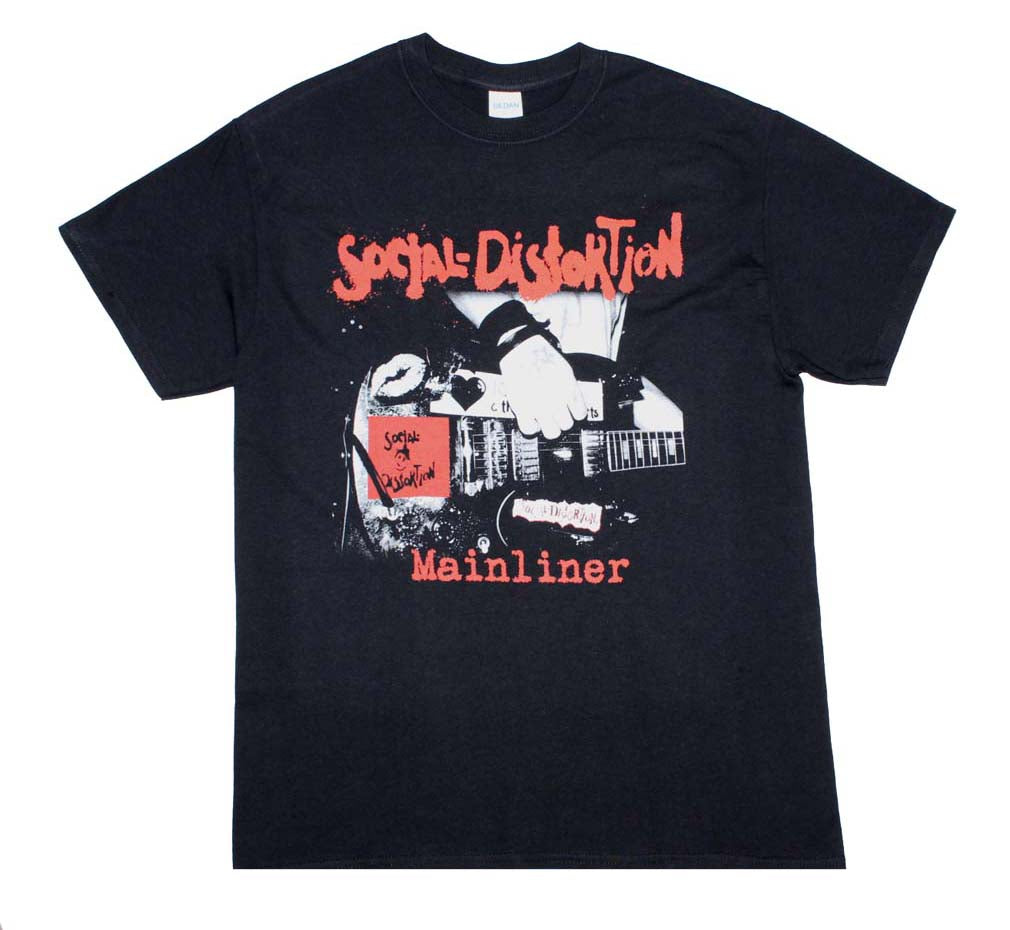 Social Distortion Mainliner Album T-Shirt