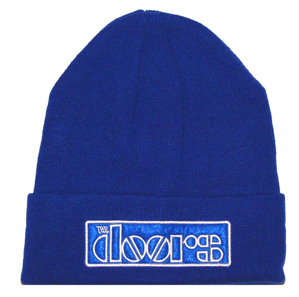 The Doors Logo Beanie Hat