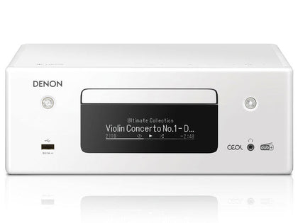 Denon ceol N11 dab bianco amplificatore all in one streaming completo