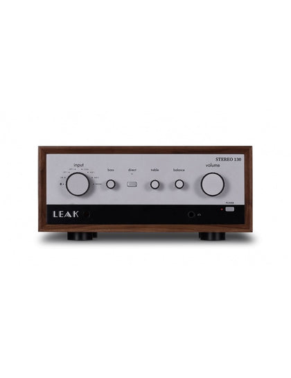 Leak stereo 130 wood amplificatore stereo con dac intergrato ingressi digitali