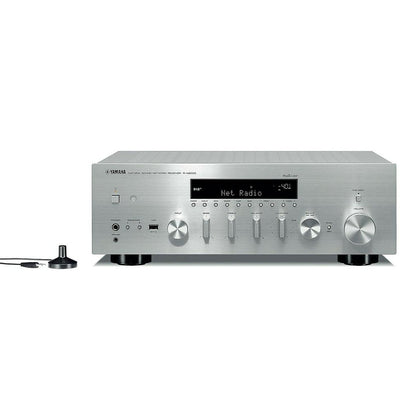 YAMAHA R- N803D SINTOAMPLIFICATORE SILV MUSIC CAST BLUETOOTH streaming DAC PHONO
