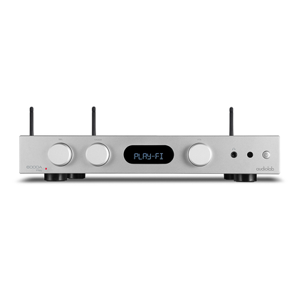 Audiolab 6000A Play silver ampli streamer DLNA Bluetooth aptX NUOVO
