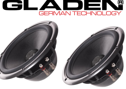 Gladen AEROSPACE 165 DC coppia mid-woofer da 165mm 135/90 Watt 3ohm