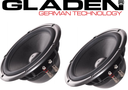 Gladen AEROSPACE 165 PP coppia mid-woofer da 165mm 135/90 Watt 3ohm