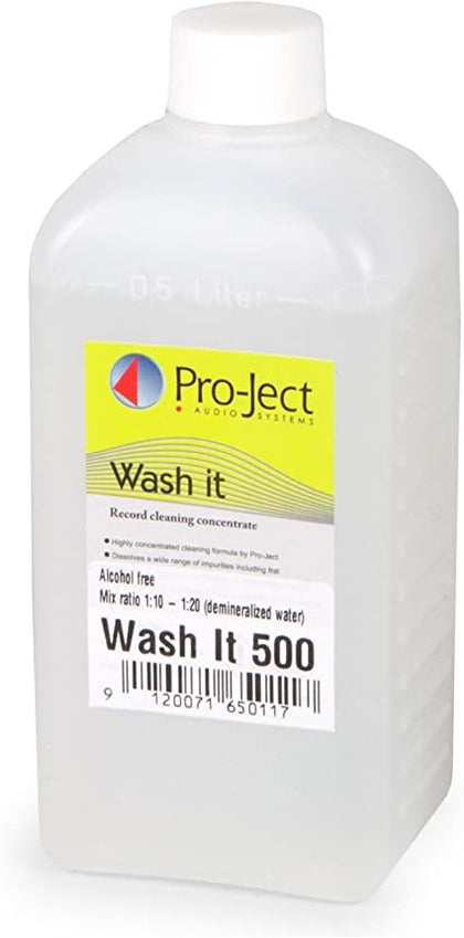 PRO-JECT WASH IT 500 FLUIDO DA 500ml PER MACCHINA LAVADISCHI VINYL CLEANER
