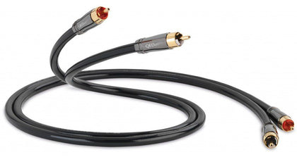 QED PERFORMANCE AUDIO 40 CAVO RCA CONNETTORI QED ANAMATE da 1MT