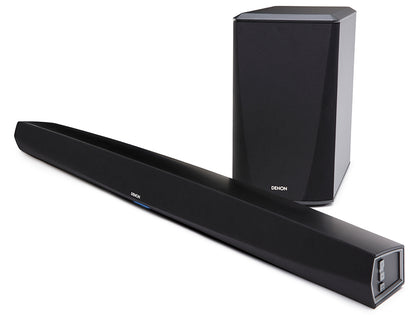 Denon DHT-S516H Soundbar e subwoofer wireless. Bluetooth, WiFi, Airplay2 Heos integrati