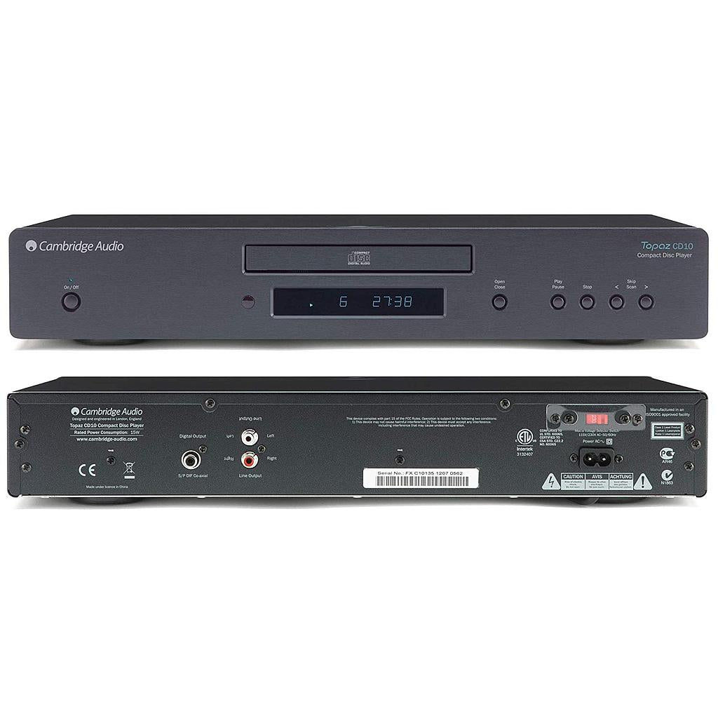 Cambridge audio cd10 lettore cd DAC Wolfson tecnologia double-sided