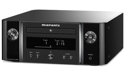 Marantz Melody X M-CR612 nero amplificatore CD, radio DAB + e sorgenti di streaming musicale HEOS