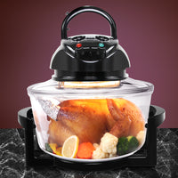 Electric Convection Oven Air Fryer- Black