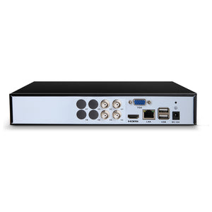 5 IN 1 4CH DVR Video Recorder CCTV Security System HDMI 1080P
