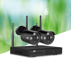 1080P 4CH Wireless Security Camera NVR Video