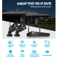 1080P 8CH NVR Wireless 6 Security Cameras Set