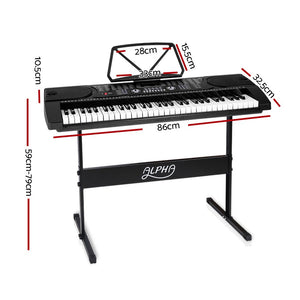 61 Keys LED Electronic Piano Keyboard