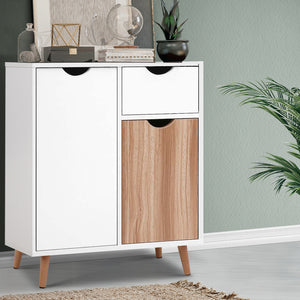 Buffet Sideboard Cabinet Storage Hallway Table Kitchen Cupboard Wooden