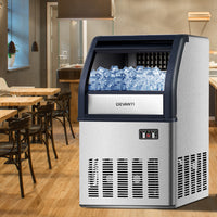 Commercial 10KG Ice Maker - Stainless Steel