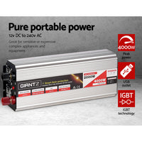 2000W Puresine Wave DC-AC Power Inverter