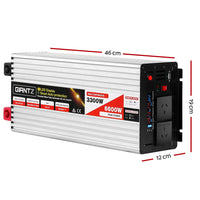 3300W Puresine Wave DC-AC Power Inverter