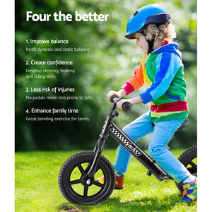 "Bike Ride On Toys Puch Bicycle Wheels Toddler Baby 12"" Bikes Black"