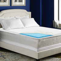 Bedding Queen Size Dual Layer Cool Gel Memory Foam