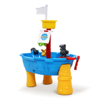Kids Beach Sand and Water Toys Outdoor Table Pirate Ship Childrens Sandpit