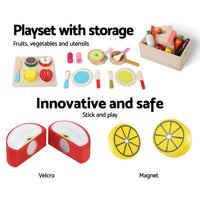 29 Piece Kids Food Play Set