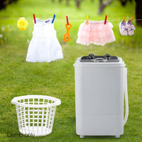 4.6KG Mini Portable Washing Machine - Black
