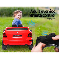 Kids start button Ride On Car  - Red