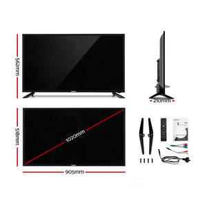 "Smart TV 40 Inch LED TV 40""2K Full HD LCD Slim Screen Netflix Dolby"