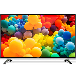 "NEW  32"" Inch Smart LED TV HD LCD Slim Thin Screen Netflix Black 16:9"