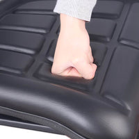PU Leather Tractor Seat - Black