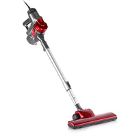 Corded Handheld Bagless Vacuum Cleaner - Red and Silver