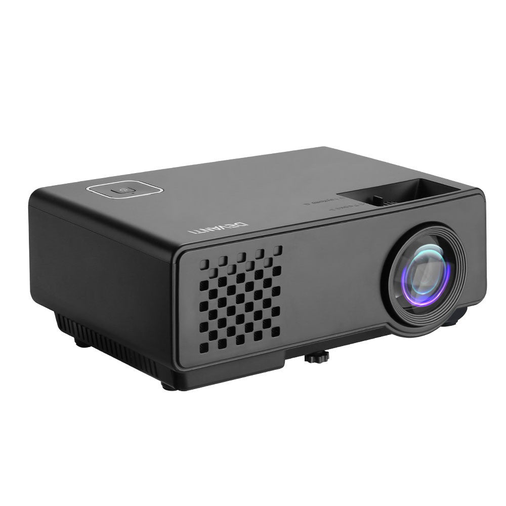 Mini Video Projector Portable WiFi Bluetooth HD 1080P 1000 Lumens Home Theater
