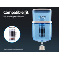 6-Stage Water Cooler Dispenser Filter Purifier System Ceramic Carbon Mineral Cartridge