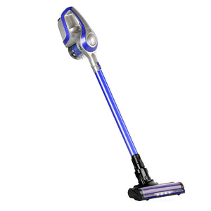 Cordless 150W Handstick Vacuum Cleaner - Grey and Blue