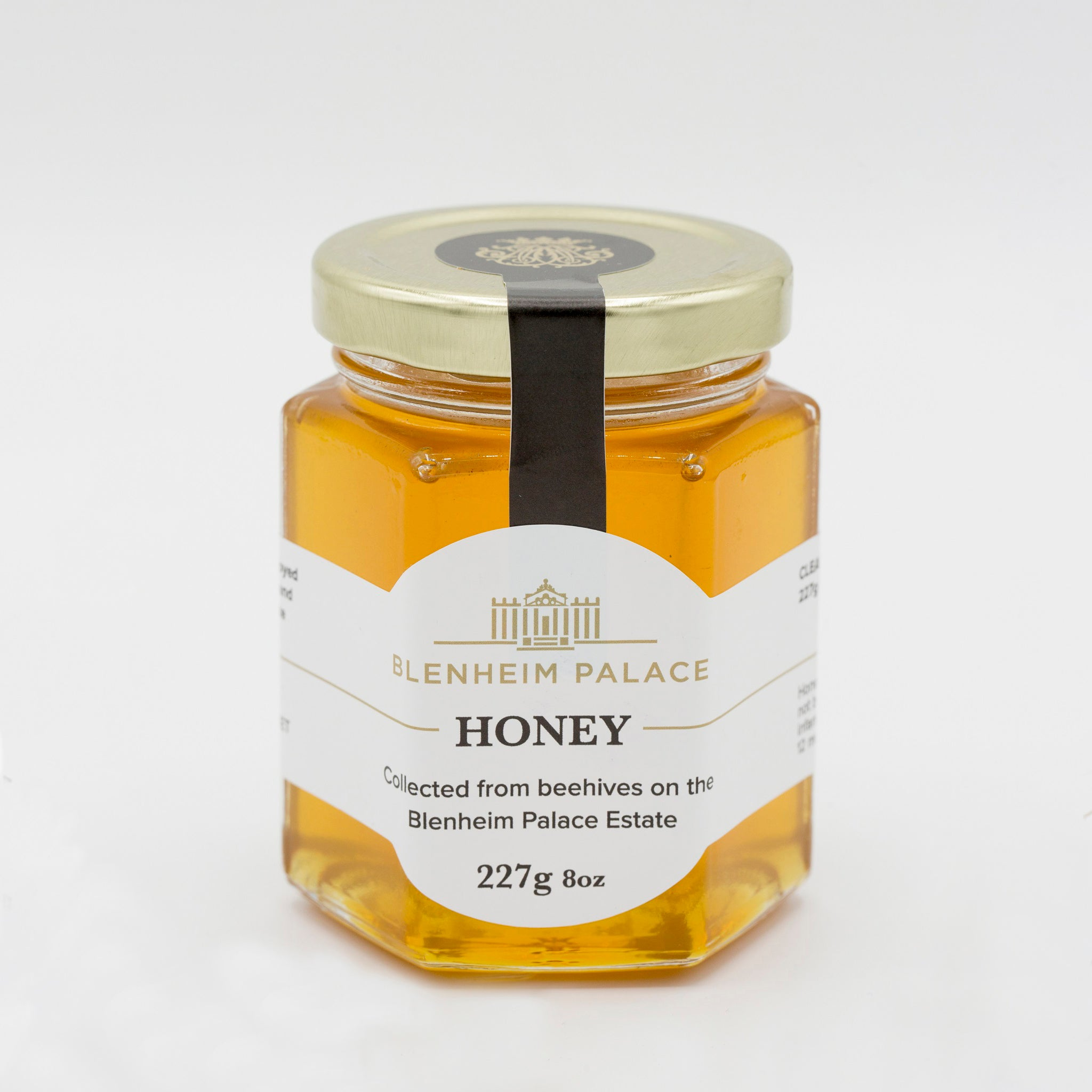 Blenheim Honey 8oz Clear Jar